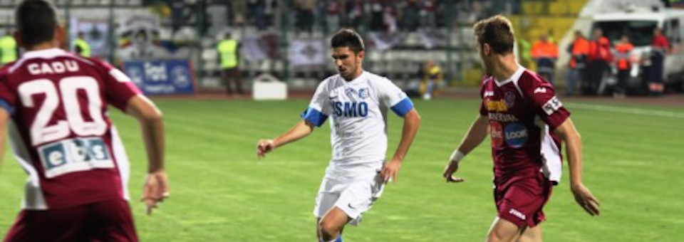 Remiză pentru CFR Cluj: 1-1 cu Pandurii Târgu-Jiu