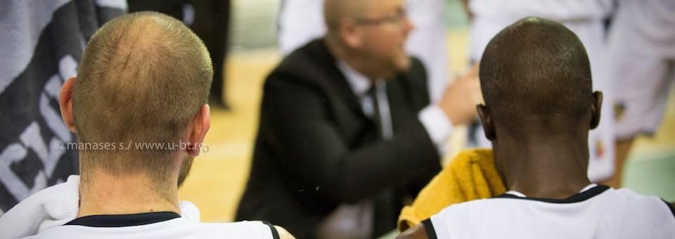 U-BT se pregătește pentru debutul în grupele FIBA Europe Cup