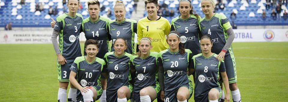 Olimpia Cluj a câștigat Cupa României la fotbal feminin