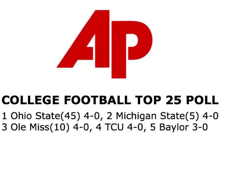football football games ap top 25 football scores
