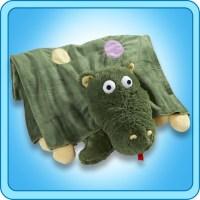 Authentic Pillow Pet Dizzy Dragon Blanket Plush Toy Gift ...