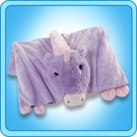 Authentic Pillow Pet Magical Unicorn Blanket Plush Toy ...
