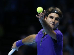 Federer held the top position in Tennis for the majority of 2012. (AP Photo/Kirsty Wigglesworth)