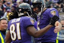 Joe Flacco supports teammate Anquan Boldin's decision to push to be paid in full. Image Credit: Associated Press