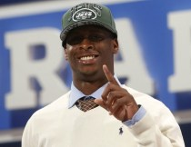 Geno Smith, the Jets' second-round pick in the 2013 draft, as fired his agents. Image Credit: Associated Press