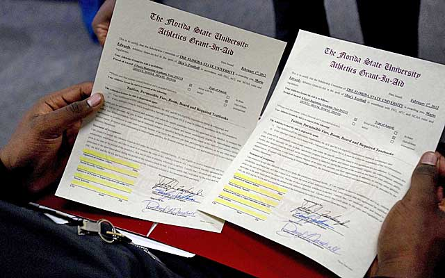 Sign of the times Does National Letter of Intent need reform