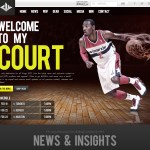 Los Angeles-based NCLUSIVE, inc. has launched Washington Wizards' point guard John Wall's brand new website.