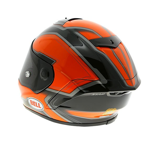 Orange Pacé Bell Star - Pace Orange / Black - Free Uk Delivery