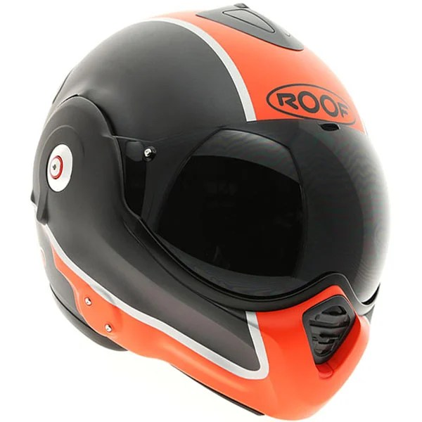 Roof Desmo Roof Desmo Flash - Matt Graphite / Orange Motorcycle