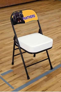 Bison Team Sideline Chairs Sports Facilities Group Inc