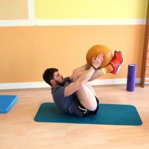...schön dabei die Bauchmuskeln anspannen...