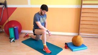 Hüfte und Beinstrecker aktivieren
