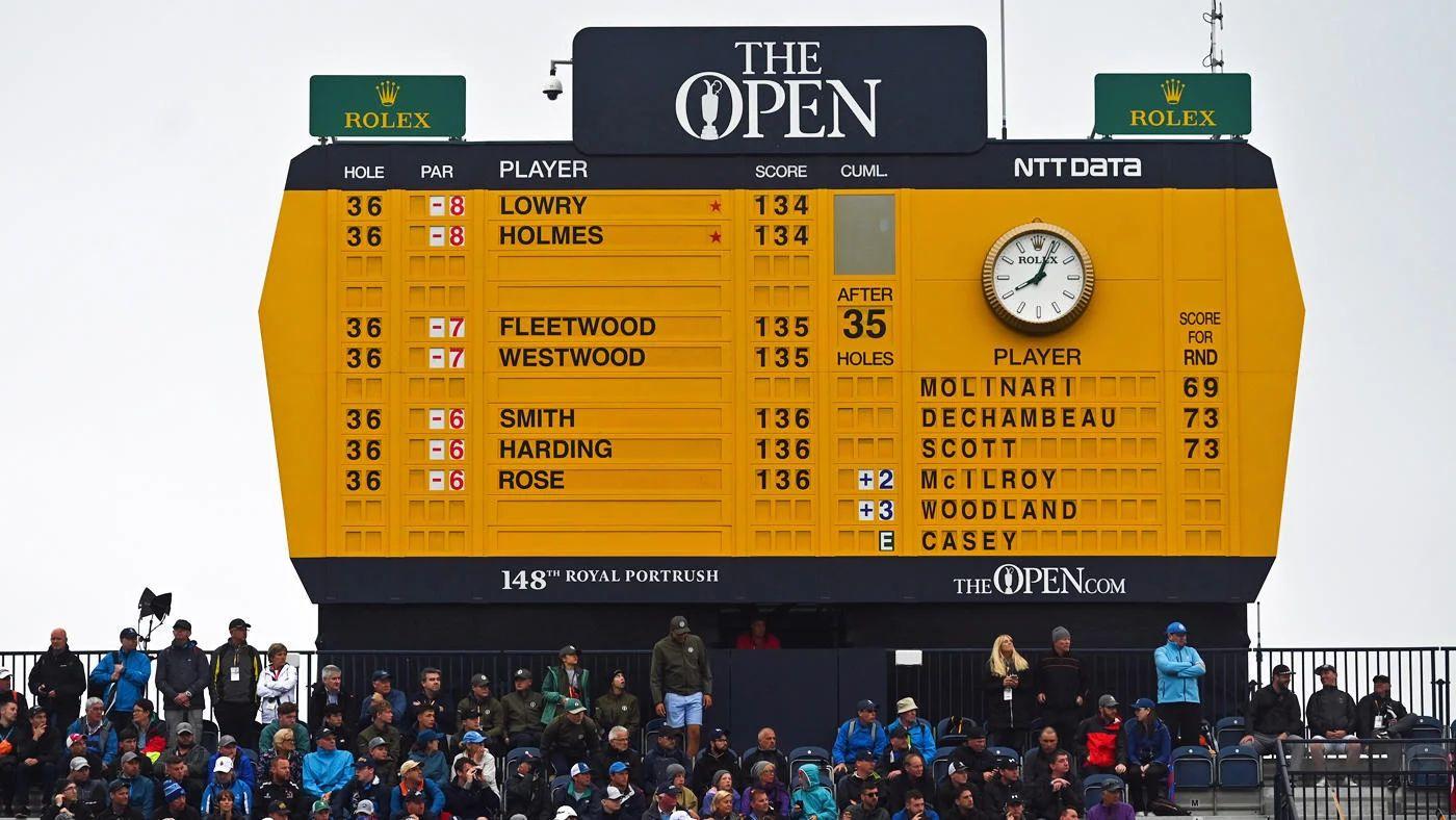 british open tv schedule final round