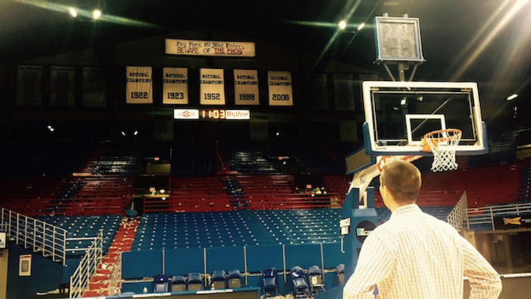 Experiencing Allen Fieldhouse A first-time journey to an all-time