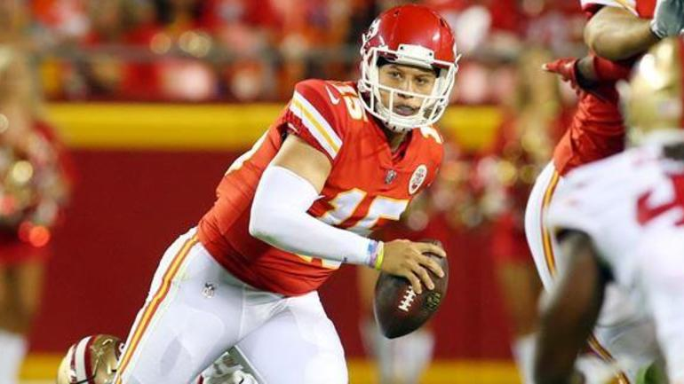 Patrick Mahomes promoted to Kansas City Chiefs No 2 quarterback