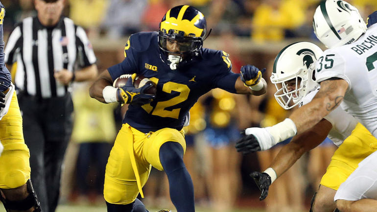 Michigan running back Chris Evans no longer with Wolverines program
