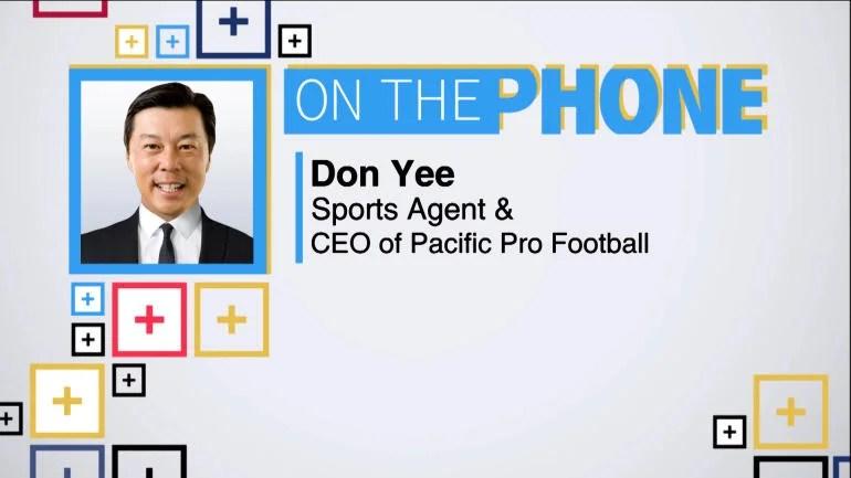 Tiki and Tierney Don Yee talks Pacific Pro Football - CBSSports