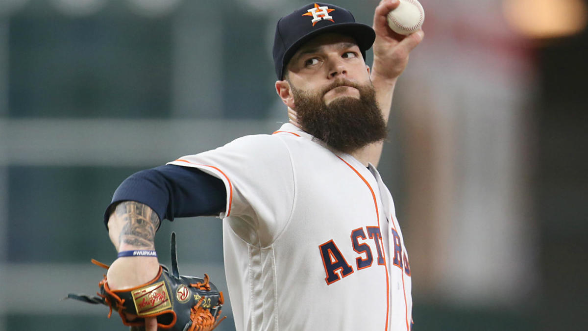 Dallas Keuchel Is Willing To Shave His Beard If He Signs With The Yankees Cbssports Com