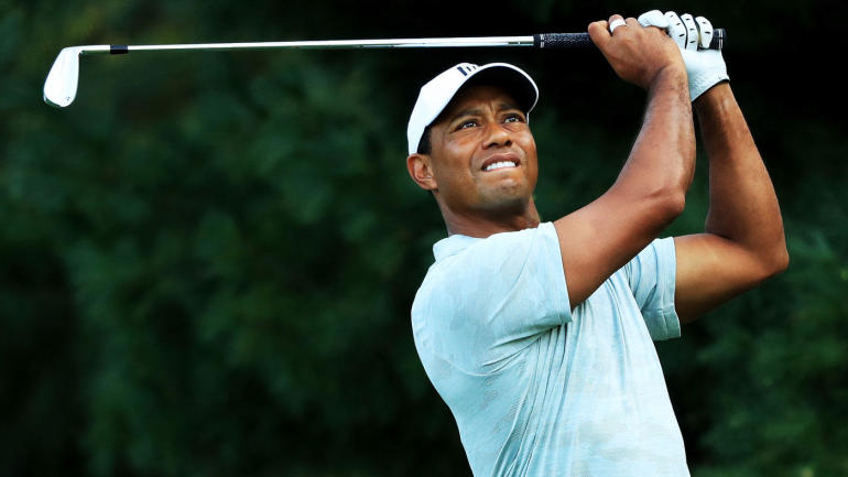 northern trust leaderboard tiger woods score