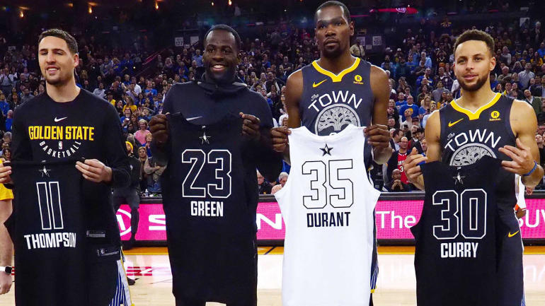 Ranking each NBA starting lineup for opening night Warriors lead