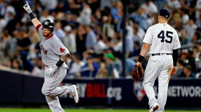 Red Sox vs. Yankees score: Boston holds off New York's ninth-inning rally to advance to ALCS ...