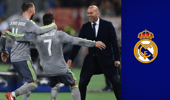 Zidane in Real Madrid