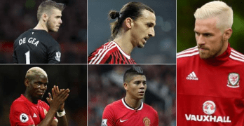 Stylish Hair cut of Manchester United stars [Big collection of recent Photos 2016]