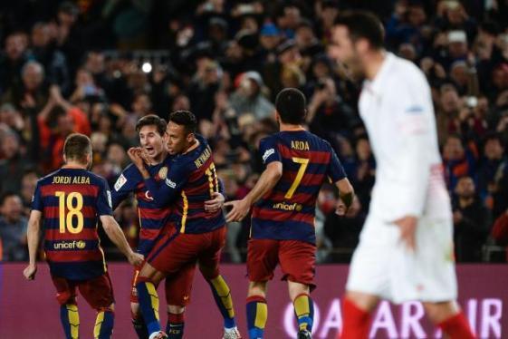Sevilla Vs Barca