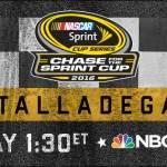 NBCSN PRESENTS NASCAR SPRINT CUP ELIMINATION RACE FROM TALLADEGA SUNDAY AT 1:30 PM ET