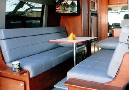 Designing Your Custom Camper Van Conversion Seats Bed