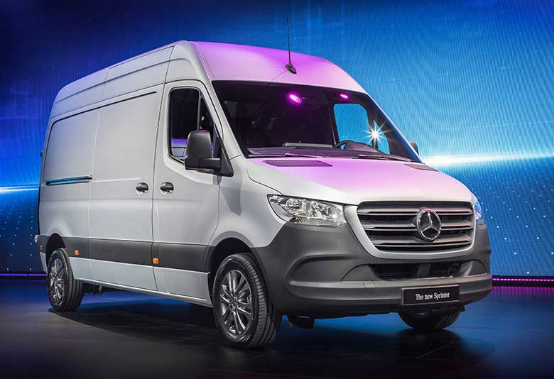 Mercedes-Benz Sprinter Van + Dimensions + Comparisons - Conversions