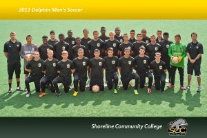 Mens Soccer 2013 Stylized Team Photo