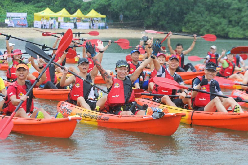 Adult Category_Kayak Start