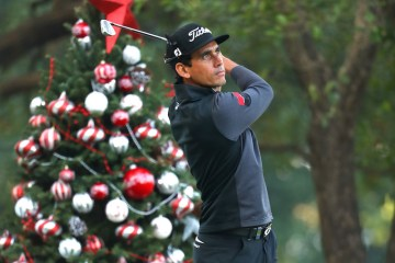 HONG KONG - DECEMBER 08:  Rafa Cabrera Bello of Spain tees off on the 12th hole during the first round of the UBS Hong Kong Open at The Hong Kong Golf Club on December 8, 2016 in Hong Kong, Hong Kong.  (Photo by Warren Little/Getty Images)