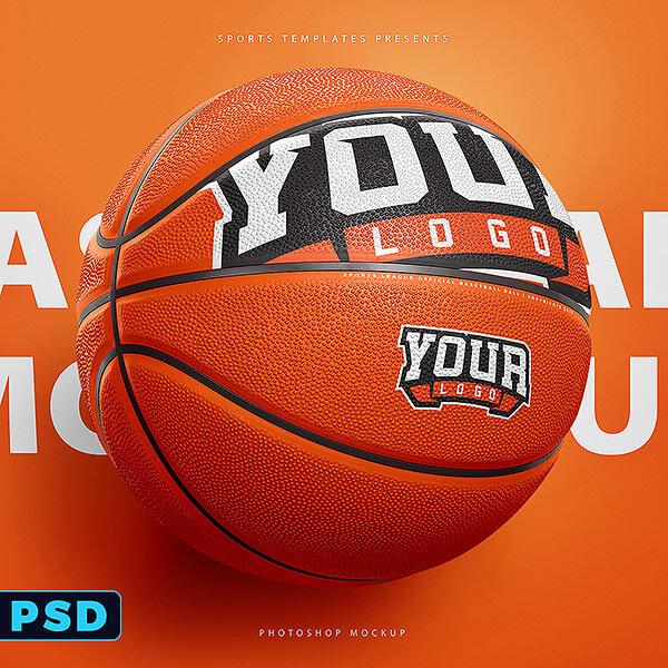 Basketball Ball Photoshop Template \u2013 Sports Templates