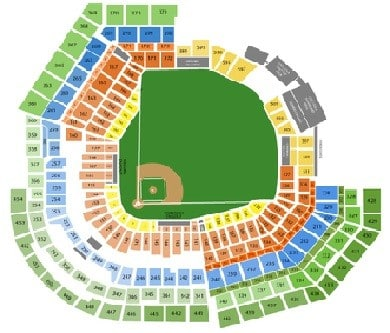 St Louis Cardinals Stadium Interactive Seating Chart Awesome Home