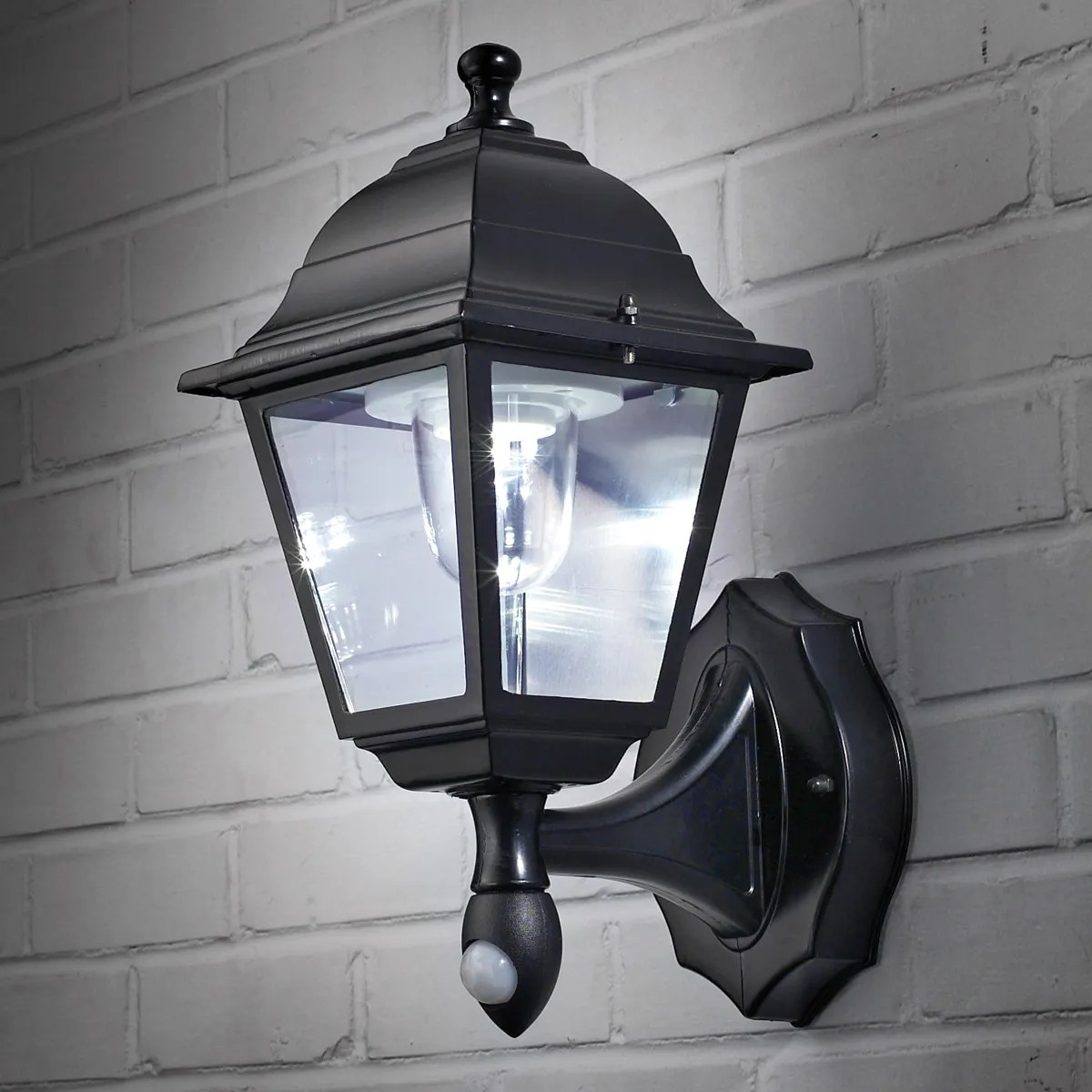 Battery Operated Wall Sconce Lighting Wireless Motion Activated Outdoor Wall Sconce