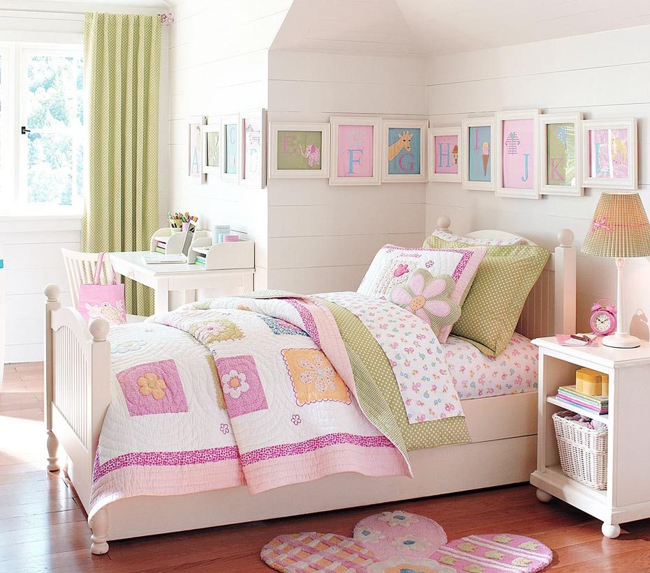 Pottery Barn Kids Bedding With Fascinating Flannel Design