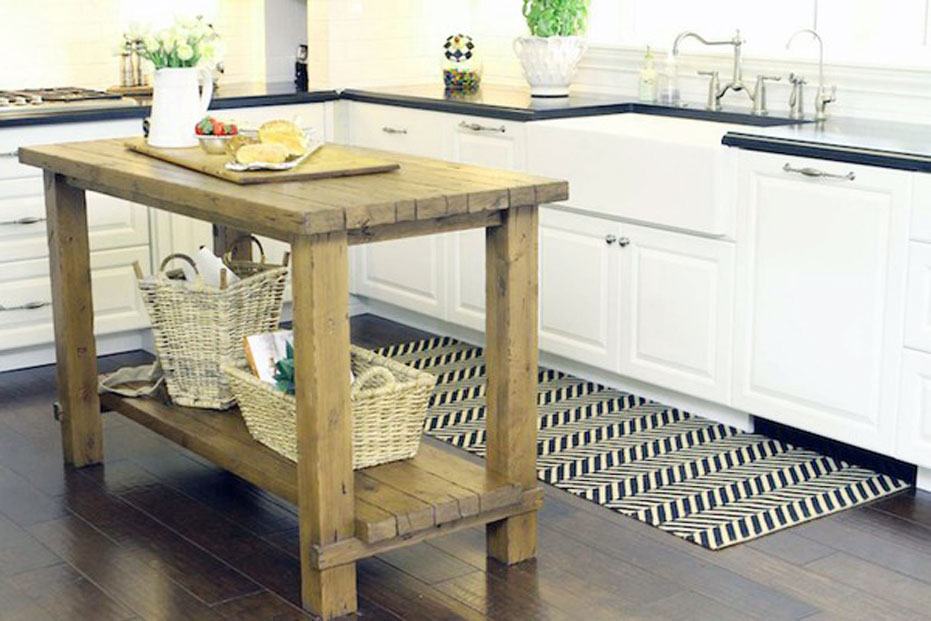 The Decorations Of Butcher Block Dining Room Tables For