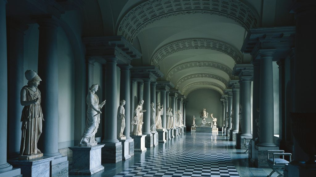 Sculpture Hd Wallpapers Colonnade In Gustav Iii 180 S Museum Of Antiquities In