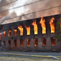 Fire strikes Watervliet warehouse: criminal behavior not suspected to be the cause