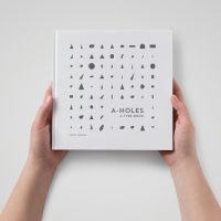 "A humorous eye on typography: Former professor pens book, ""A-Holes: A Type Book"""