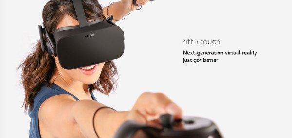 画像2: Facebookが行なったOculus Connctイベントにて発表されたoculus touchコントローラですが、ようやく発売日と価格が明らかになりました!米国での発売開始は12月9日で、予約販売は10月10日より開始とのこと! The post VR待望、Oculus Touchコントローラの発売日と価格が明らかに!米国での発売開始は12月9日とのこと appeared first on Spotry.me. spotry.me