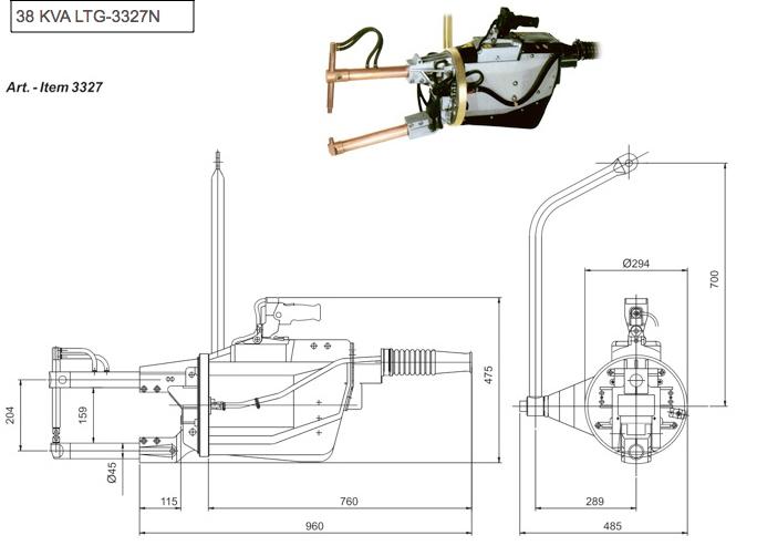 Manual Weld Guns - Spot Weld, Inc