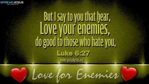 Christian Quote Wallpaper Desktop Bible Quotes Luke 6 27 Hd Wallpapers Free Download