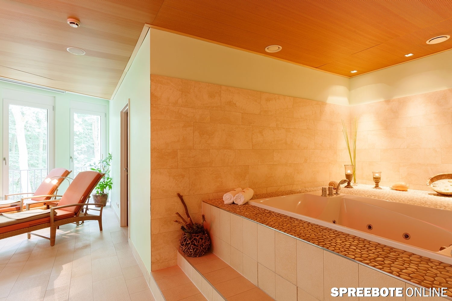 Plastikwanne Groß Arosa Scharmuetzelsee Wellness Beauty Spa Suite Wanne 6531