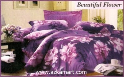 Sprei Full Katun Jepang Murah Sprei Impression Beautiful Flower