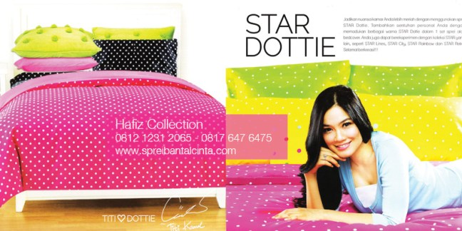 Distributor Sprei Star Di Tangerang