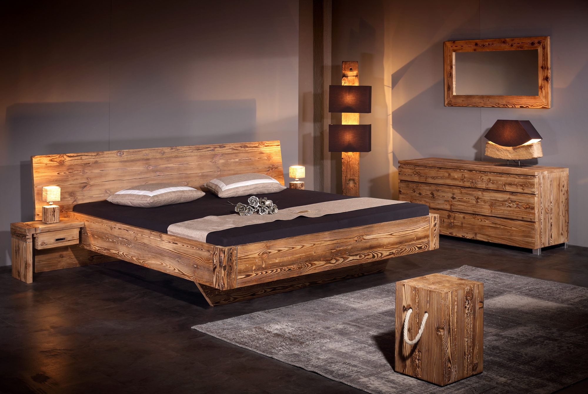 Bett Aus Altholz Betten Altholz Wohn Design