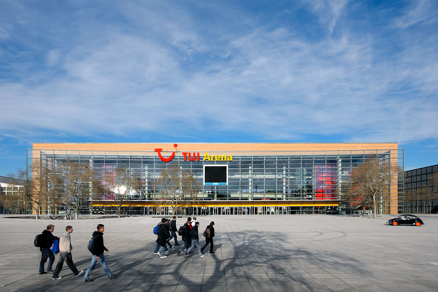 Expo Plaza Hannover Arena Expo 2000 Hannover Sprenger Von Der Lippe